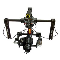 Professional FPV 3-axis DSLR Handle Brushless Gimbal Camera Mount Set w/5208 Motor& Alexmos Controller f/5D2 5D3 D800