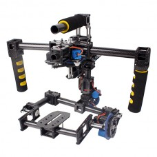 3 Axis FPV Camera Gimbal With Stabilized Mount Servos & Gyro Handle Gimbal For Movie