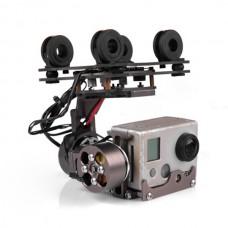 X-CAM X100B Two-axis Aluminum Brushless Gimbal Camera Mount PTZ for DJI Phantom Gopro Camera