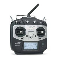Futaba 8FG T8FG Super FASST 14-Channel 2.4GHz Transmitter + R6208SB Receiver with Battery