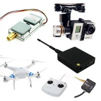DJI Phantom 2 RC RTF Quadcopter Drone+ DJI H3-2D GoPro Gimbal & Lawmate Telemetry & IOSD Mini Ready FPV Multicopter
