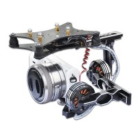 Lotus PTZ-E Two-axis Brushless Gimbal Camera Mount for ILDC Camera NEX-5N/5R/5T FPV Aerial Photography