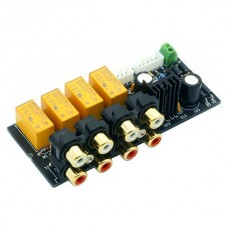 4 Channel Stereo Audio Signal Selection Board for AMplifier Board DIY