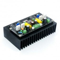 Hi-End LM4702+2SK1530+2SJ201 Stero Power amplifier board with Heatsink 100W+100W