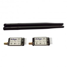 433Mhz 100mw Aiage Single TTL 3DRobotics 3DR Radio Telemetry Kit 433Mhz for APM APM2.6