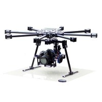 HY-8-100 Professional FPV Glass Fiber Octacopter Multicopter +Camera Gimbal for 5D/7D/D90 DSLR