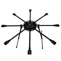 QLB-X8 Q800 Mini Octocopter FPV Multi-rotor for Mini DSLR Brushless Camera Gimbal