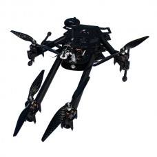 FPV LS-X4 800mm Alien Folding Four-axis Quadcopter X4 25mm Tube Aircraft Frame w/ Gopro Gimbal