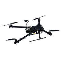 FPV LS-X4 600mm Alien Folding Four-axis Quadcopter 16mm Tube Aircraft Frame Kit w/ Gopro gimbal