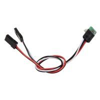 Gopro Hero 3 USB 90 Degree to AV Video Output & 5V DC Power BEC Input Cable FPV