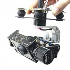 CUAV Gopro 1/2/3 Universal FPV 3-axis Brushless Gimbal Camera Mount PTZ w/Motor & Gimbal Controller Aerial Photography