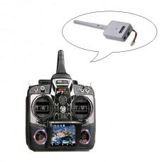 Walkera Devo-F7DS 2.4G Wireless Digital FPV Radio Controller 7CH Remote Controller W/ TX24D-01 Camera