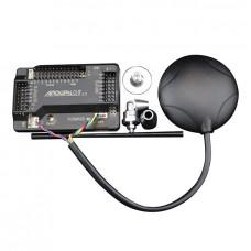 APM 2.6 Set (Built-in compass) + uBlox LEA-6H GPS DIY Drones APM2.6 w/ Protective Case & GPS Bracket