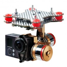 HMG188 Brushless Camera Mount Gimbal for Gopro Hero 3/3+ Suptig FPV Aerial Photography DJI Phantom Compatible