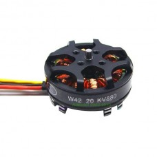 HengLi W42-20 W4220 880KV 3S 250W Brushless Motor for Quad HexCopter Multi copter