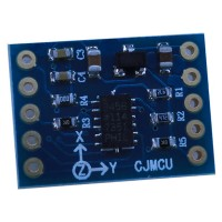 3-Axis Digital Output Acceleration of Gravity Tilt Module for Arduino ADXL345