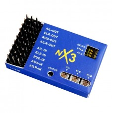Humanized NX3 Flight Controller 3D Flight Gyroscope Balance for Airplane Fixed-wing Aircraft