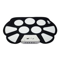 Portable Digital Electronic Tabletop Roll up Drum Kit Standard drum-set