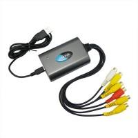 4 Channel USB DVR Audio Video Capture Adapter PAL/ NTSC Brand New