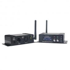 New DMX512 DMX Dfi DJ Wireless system Receiver & Transmitter 2.4G 500Meter