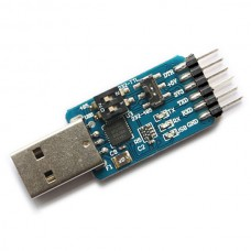 6 in 1 Multifunction Serial Module CP2102 USB TTL 485 to 232 Convert Module 3.3V/5V compatible