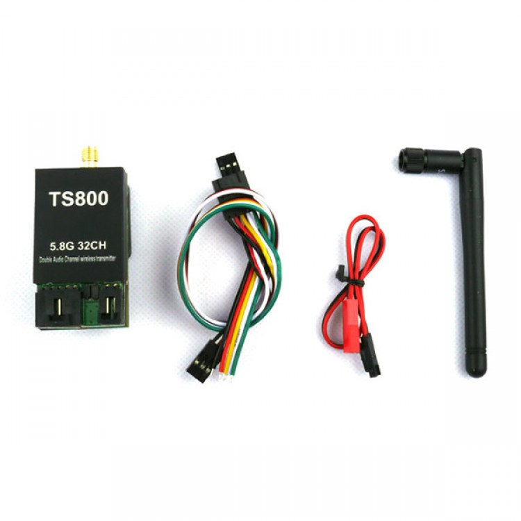 FPV 5.8G 32CH LED Channel Display 1500mW AAT Compatible A/V ... Aat With Fpv Wiring Diagram on