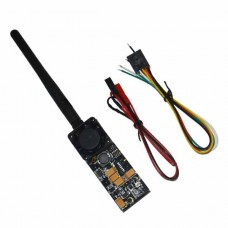 DYS TX500 5.8G 500mW Wireless Video Transmission Sender Transmitter w/2dB Antenna