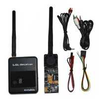 DYS TX+RX Set TX500 5.8G 500mW Wireless Video Transmitter Sender + 5.8G RX580S Receiver