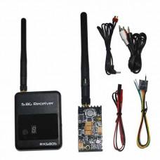 DYS TX+RX Set TX400 5.8G 400mW Wireless Video Transmitter Sender + 5.8G RX580S Receiver