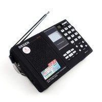 DEGEN DE1121 FM SW MW LW SSB Dual Conversion MP3 Radio Receiver Black