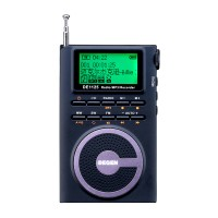 Digital Radio Recorder FM Stereo MW SW AM MP3 Player DSP 4GB DEGEN DE1125