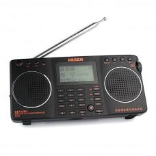 DEGEN DE1128H FM/MW/SW DSP Inside 4GB MP3 Recorder Dual Speaker Radio Receiver