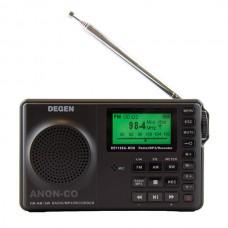 Degen DE1129 Portable AM FM Shortwave Radio MP3 Player and Recorder