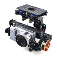 FPV Brushless Camera Mount Gimbal with Motor & Controller Sony NEX5 5N 5R GH2