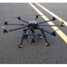 Hifly Octocopter 1200mm FPV Multi-Rotor with 3 axis Brushless Gimbal Camera Gimbal HGB-1200