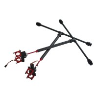 Sunshine Electronic Retractable FPV Landing Gear Skid for 16mm Tube Hexacopter Octocopter