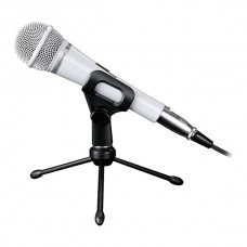 Takstar PCM-5550 Condensor KTV Microphone for Party Meeting-White