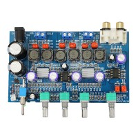 2.1 High-power 100W Digital Amplifier Board Subwoofer TPA3116D2 Super Bass 50W+50W