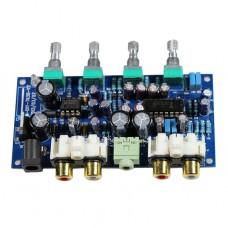 TA7630 HIFI Fever Pitch High Quality Amp Amplifier NE5532 Board Strip Pure DC Regulator