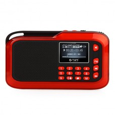 LV390 Portable Audio Mini Card Small Speaker Digital Walkma w/ 8G Card & Charger