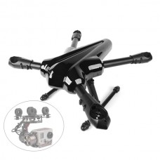 X-CAM Kingkong-450 25mm Tube Quadcopter + X-CAM X100B Two-axis Aluminum Brushless Gimbal
