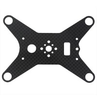 Carbon Fiber Gimbal Mounting Plate Adapter Anti Vibration For DJI Phantom Version 2 Quadcopter