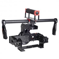 Feiying Handle Carbon Fiber 3 Axis Brushless Gimbal Camera Mount w/Motors for 5D & Other DSLR FPV Photography
