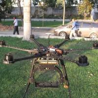 2 Axis DSLR Carbon Fiber Gimbal 5D2 FPV Camera Mount PTZ for DJI S800 Hexacopter