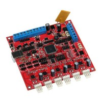 3D Printer Rambo board V1.2a support Dual Extruder for RepRap Prusa Mendel Dualstrusion