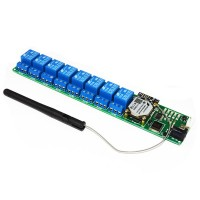 Upgrade 8 Channel USB Wireless 5V Relay Module WIFI Remote Control Kit