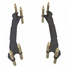 DJI Phantom Landing Gear Upgrade Kit for Gimbal FPV Carbon Fiber Extension Legs