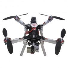 MF 500 Aluminum Folding Four-axis Alien Quadcopter + MF-BMP Brushless Gimbal Combo
