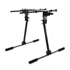 Z02 Carbon Fiber Electronic Retractable Landing Gear Skid Kit 105mm Spacing for DJI S800 & Zenmuse Z15 Gimbal