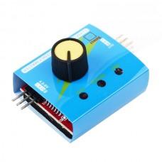3CH Multi ECS RC Servo Consistency CCMP Master Speed Controler Tester Power